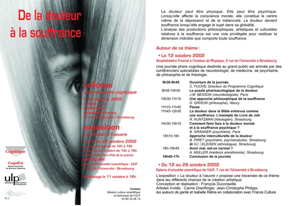 Flyer Expo Douleur.qxd