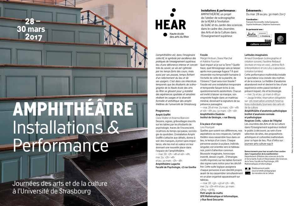 HEAR - Amphithéâtre — FLYER